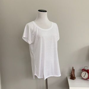 RBX White Athletic T-shirt, Size M